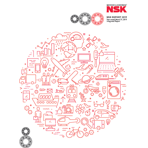 The NSK Report provides all stakeholders with a complete picture of the company and its initiatives to achieve sustainable growth