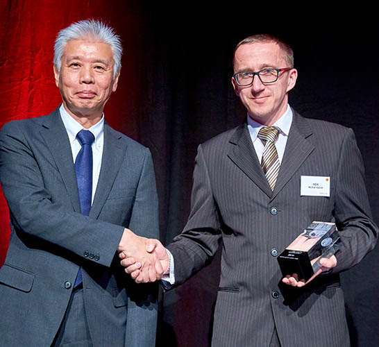 Supplier Award from Toyota Motor Europe