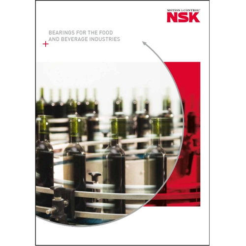 NSK's bearings for food beverage applications