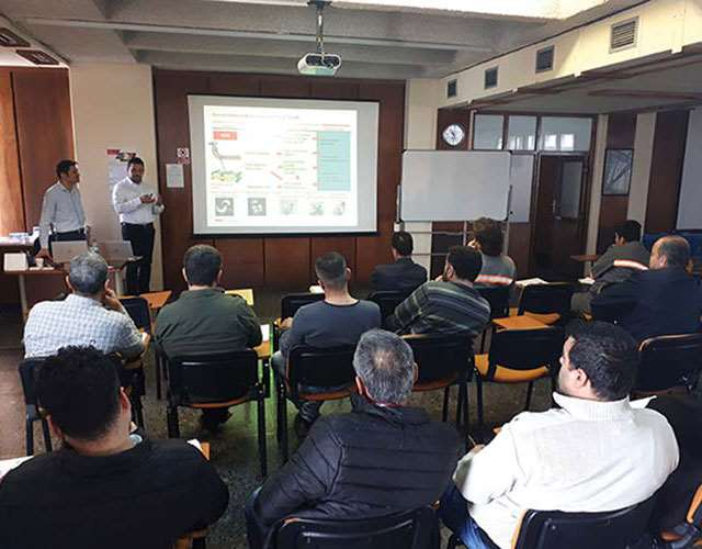 Training courses taking place at NSK Turkey