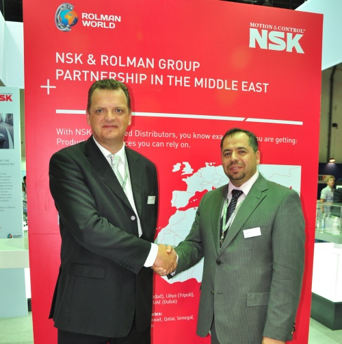 Tim Green (NSK) & Akram Muazzen (Rolman Group)