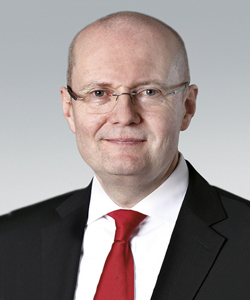 Dr Ulrich Nass, CEO NSK Europe Ltd.