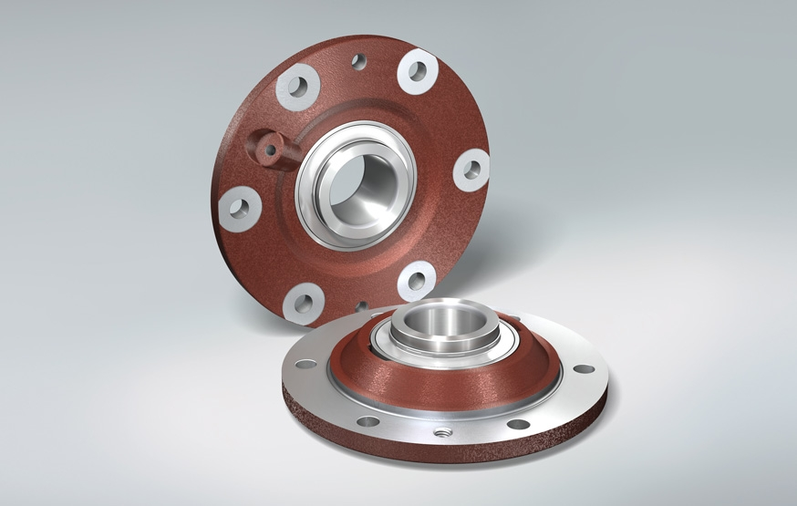 Flanged Bearing Unit for Agriculture