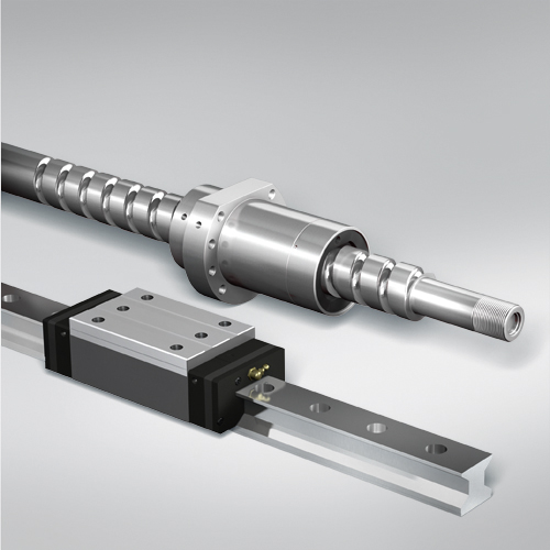 NSK linear guides and ball screws