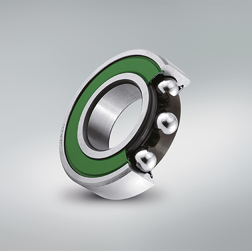Servomotor-specific deep groove ball bearings